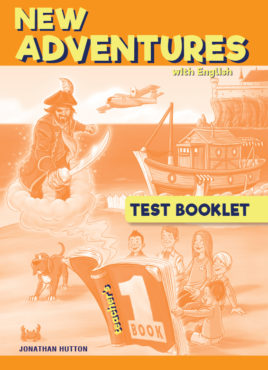 NEW ADVENTURES WITH ENGLISH 1 TEST BOOKLET (TEACHER'S)
